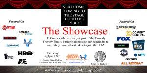 Showcase Thursday Flyer